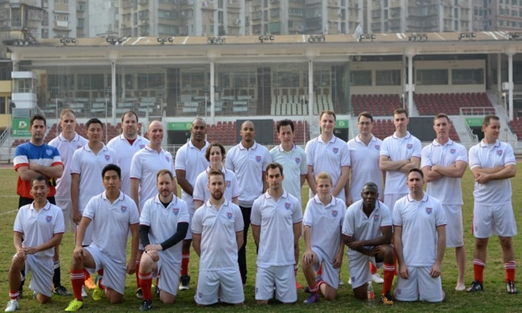 The Consulate's soccer team (State Dept.)