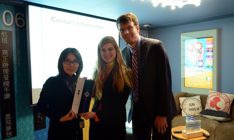 Ms. Hoi, Miss Harbin and Mr. Teichman (State Dept.)