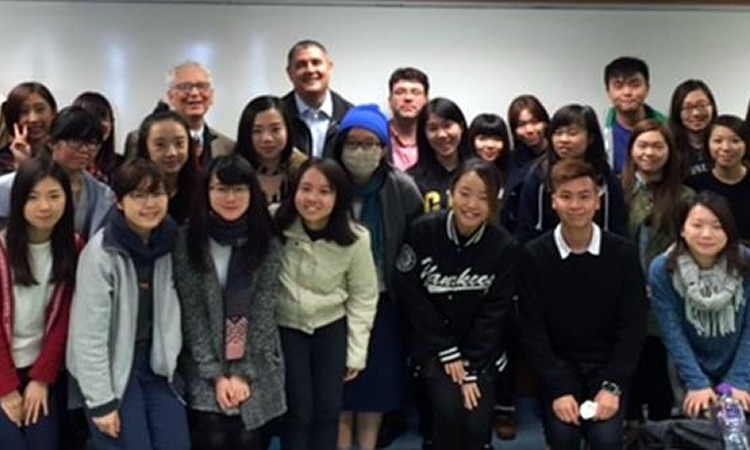Mr. Adam Johnson and students (State Dept.)