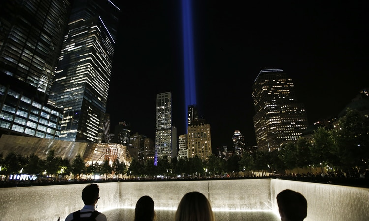September 11 Anniversary Tribute (AP Photo/Jason DeCrow)