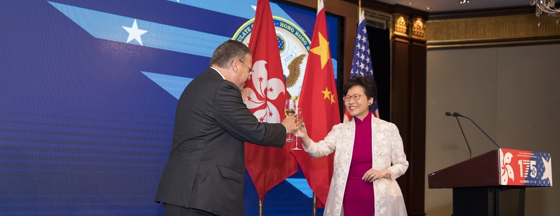 Consulate General Celebrates U.S. Independence Day and 175 Years of Diplomatic Relations