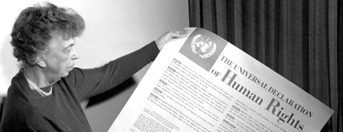 December 10 is the 70th anniversary of the Universal Declaration of Human Rights (UDHR)